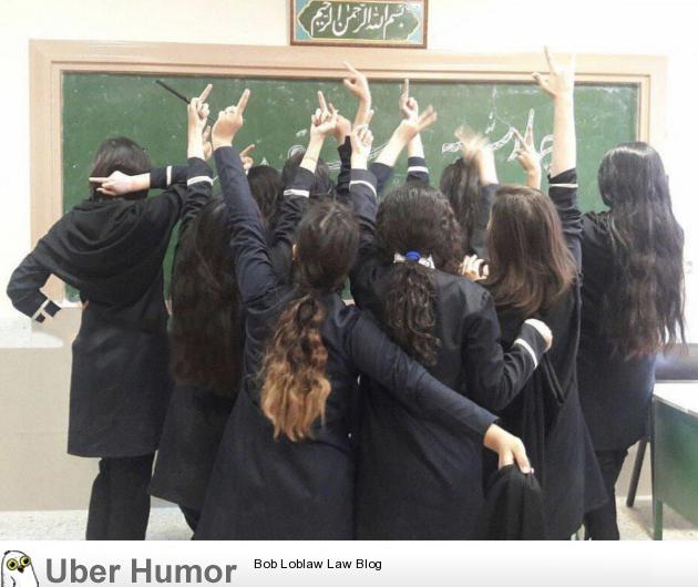 Message from brave Iranian girls to the regime in Iran and its compulsory hijab rules
