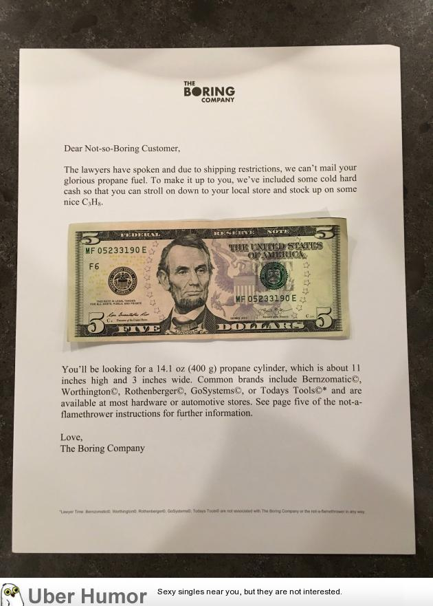 Received my Elon Musk flamethrower today  | Funny Pictures, Quotes