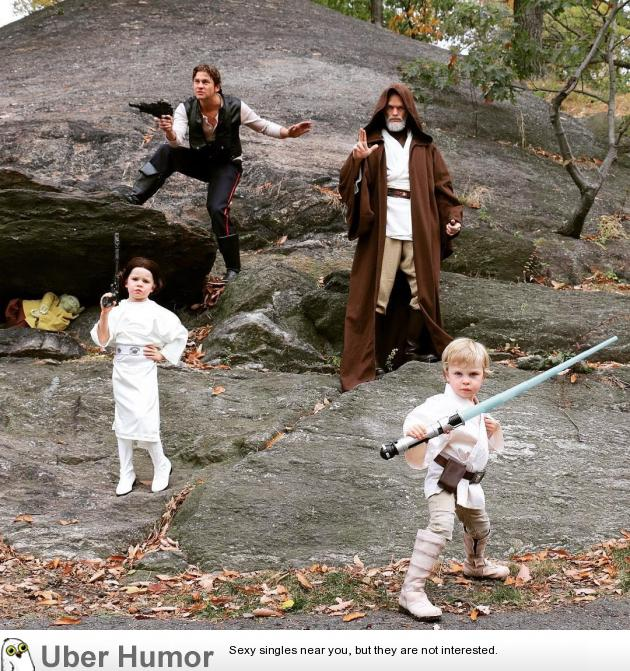 Neil Patrick Harris and his Star Wars loving family
