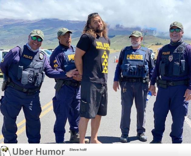 Jason Momoa arrested while defending sacred land in Hawaii