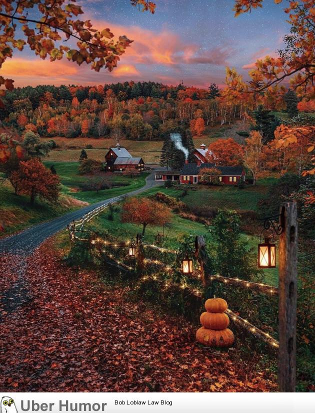 Fall is almost here. ~Woodstock, Vt~