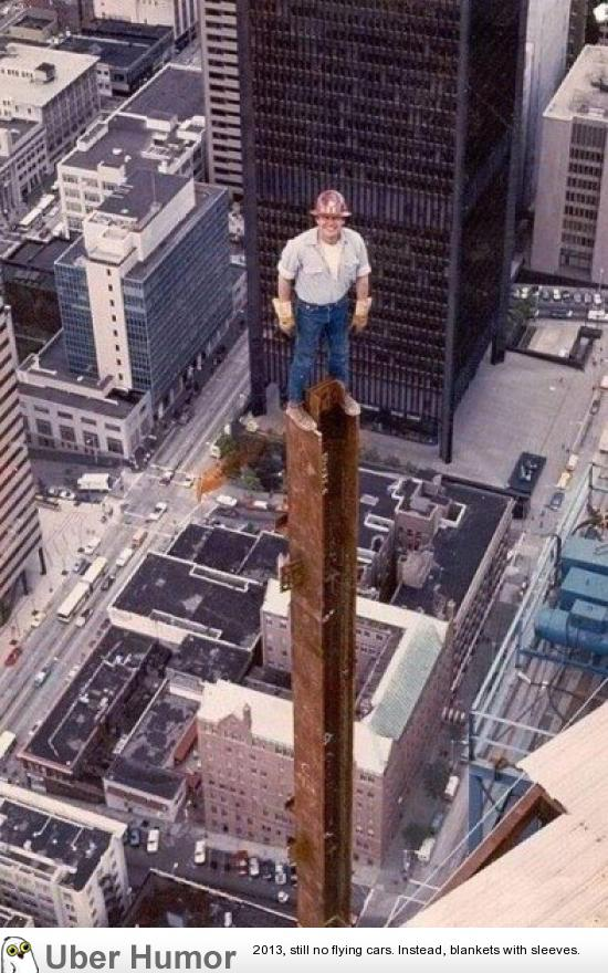 Construction worker in 1980 | Funny Pictures, Quotes, Pics, Photos, Images.  Videos of Really Very Cute animals.