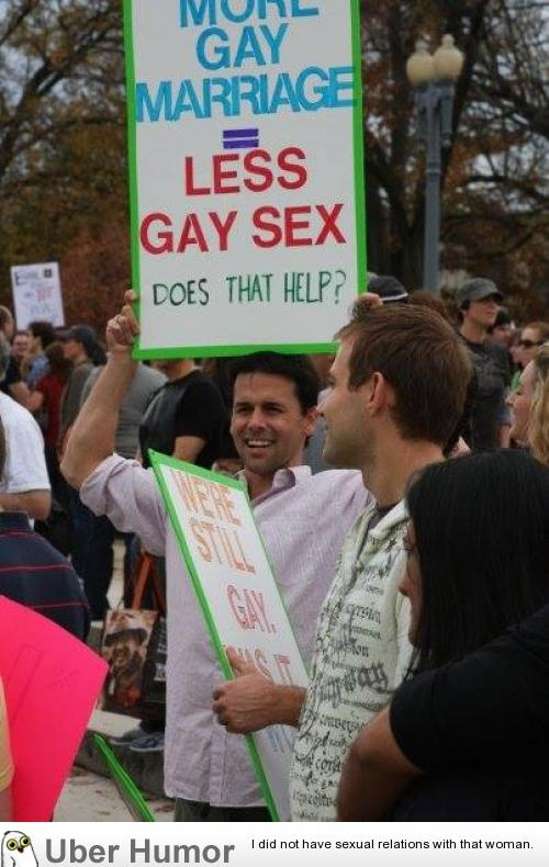 Pro gay marriage argument