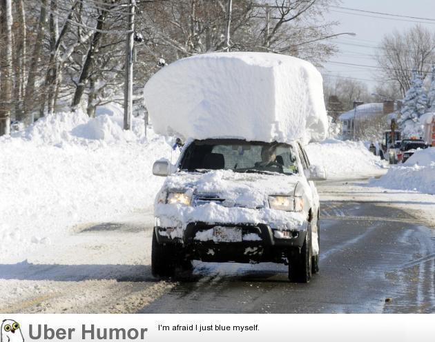 But it'll blow off if I drive fast enough…. | uberHumor.com