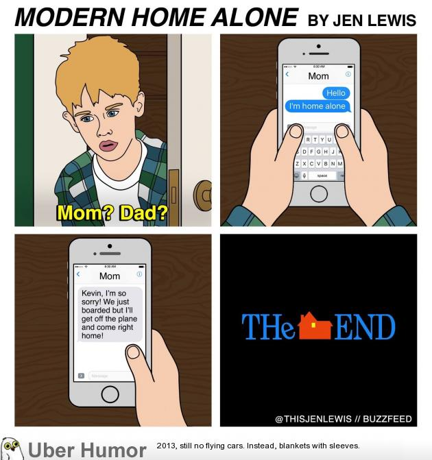 Modern Home Alone | Funny Pictures, Quotes, Pics, Photos ...
