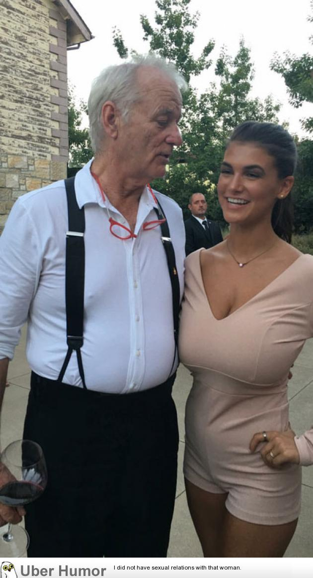 Heres A Pic Of Bill Murray Staring At My Boobs This Is The Only Picture I Have -3542