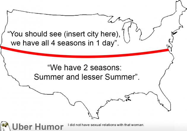 Anytime someone talks about the weather. | uberHumor.com