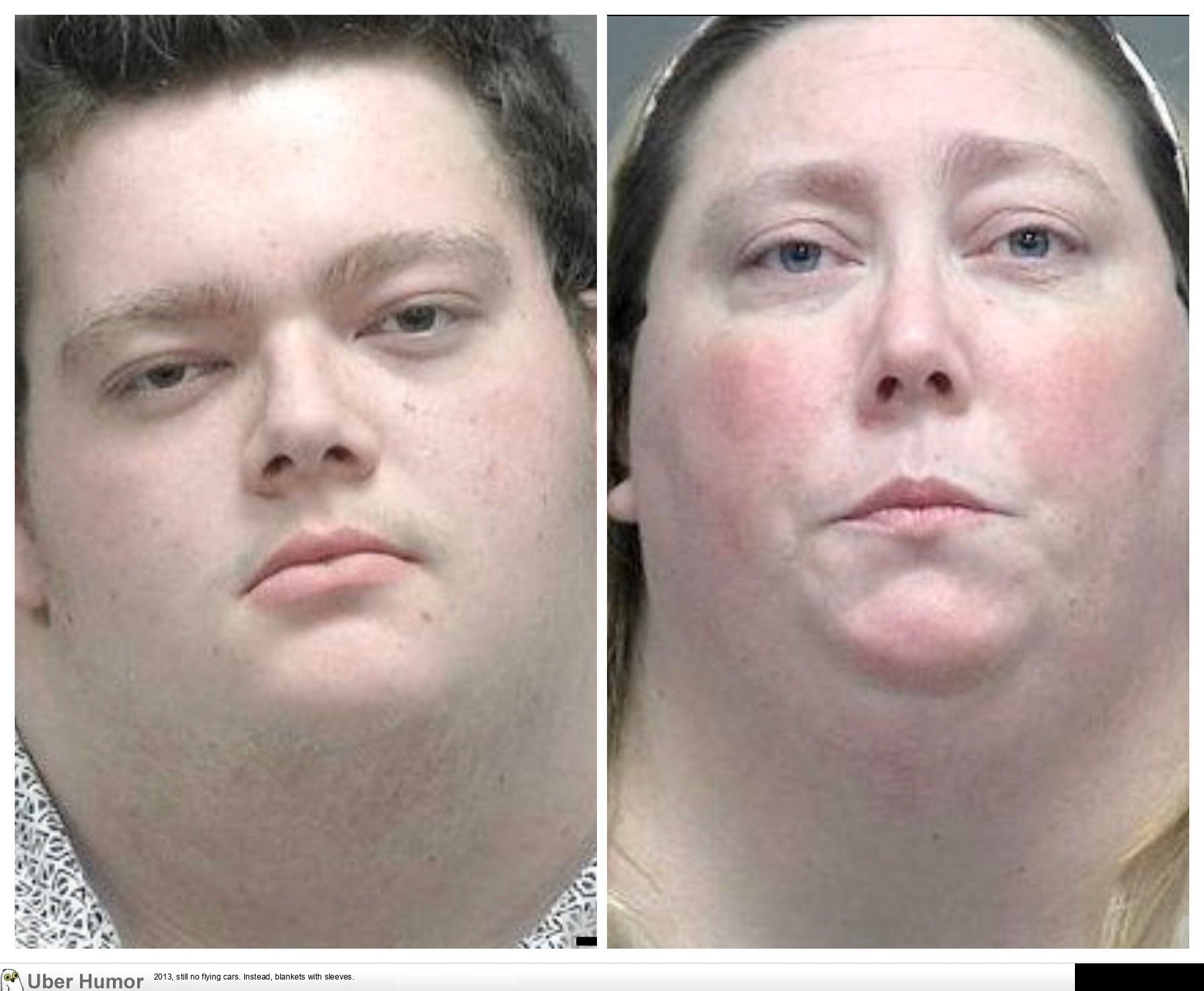 Local Son And Mother Were Arrested For Running A Drug House These Are Their Mugshots Genetics Are A Bitch Sometimes Funny Pictures Quotes Pics Photos Images Videos Of Really Very Cute