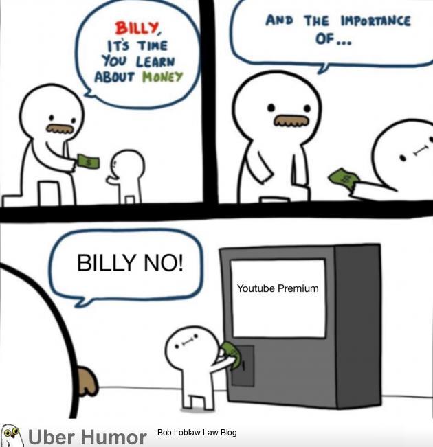Billy no!