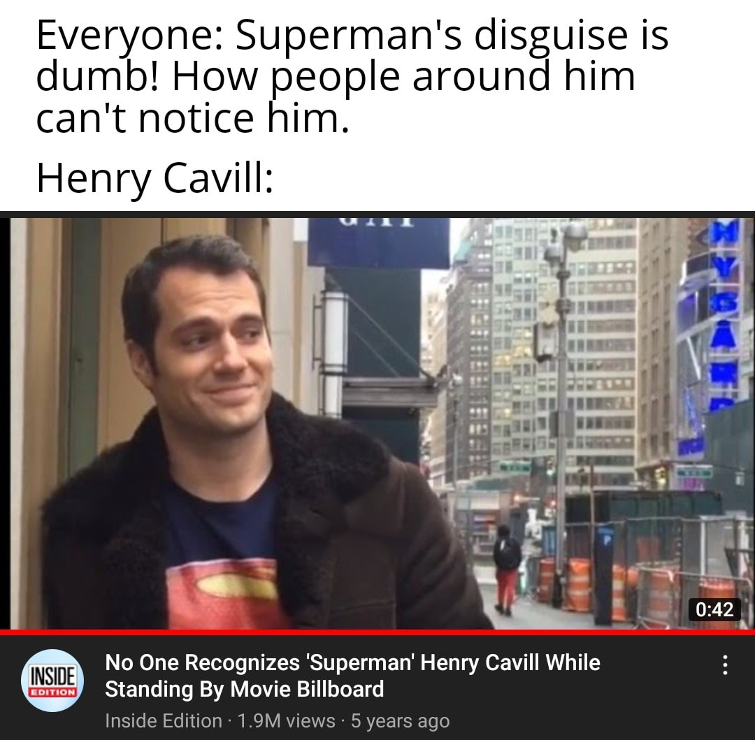 henry is superman confirmed