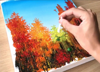 Such effortless and creative way of painting